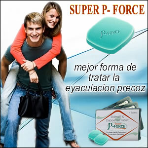 Super P-Force - Eyaculacion Precoz